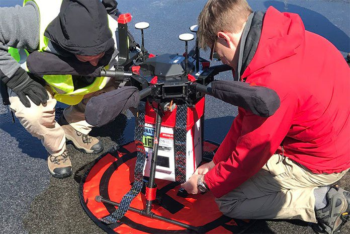 Organ Transported by Drone