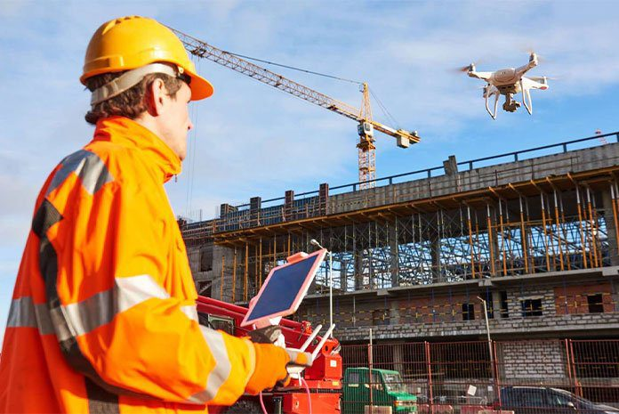 Construction drone jobs