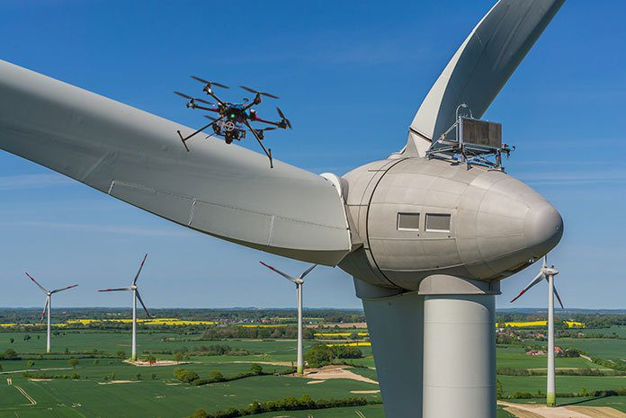 Drones in the energy sector