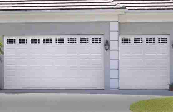 A bigger garage door