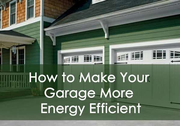 Energy-Efficient Garage Door