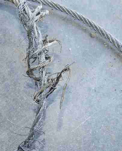 snapped garage door cables