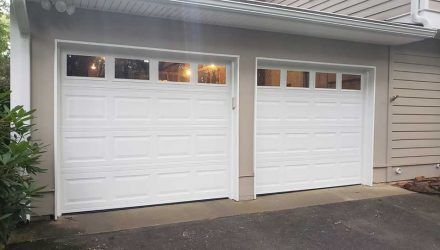Finished Garage Door Repair